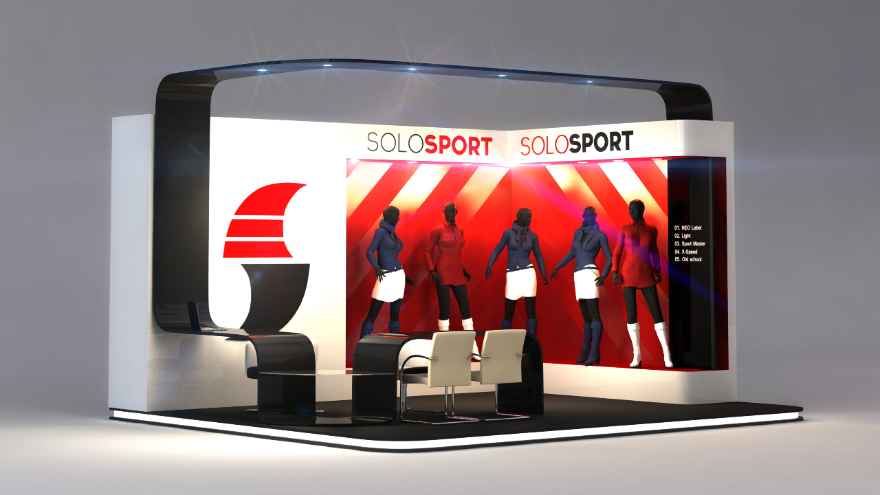 Exhibition Stand 3d Model Free Download : Free download sketchup models dwg cad files for